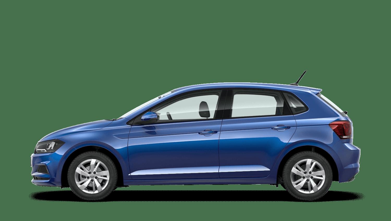 Reef Blue (Metallic) Volkswagen Polo