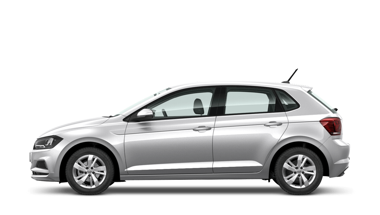 Reflex Silver (Metallic) Volkswagen Polo