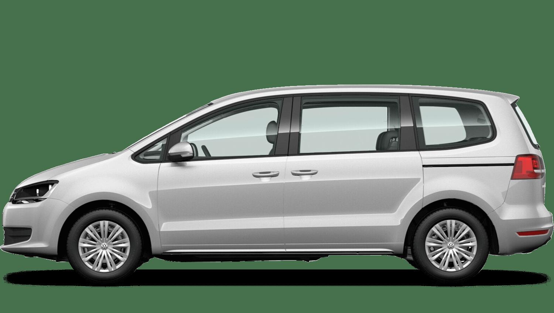 Reflex Silver (Metallic / Pearl) Volkswagen Sharan
