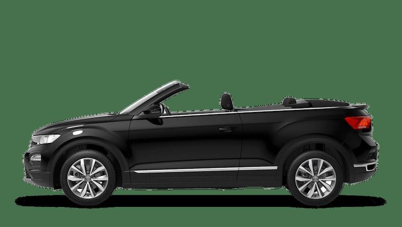 Deep Black Pearl (Metallic) New Volkswagen T-Roc Cabriolet