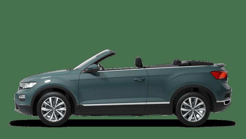 Ivy Green (Solid) New Volkswagen T-Roc Cabriolet