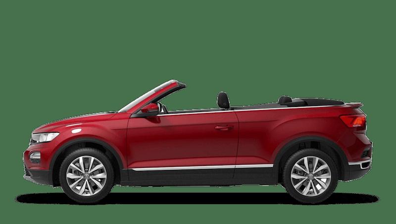 Kings Red (Metallic) New Volkswagen T-Roc Cabriolet