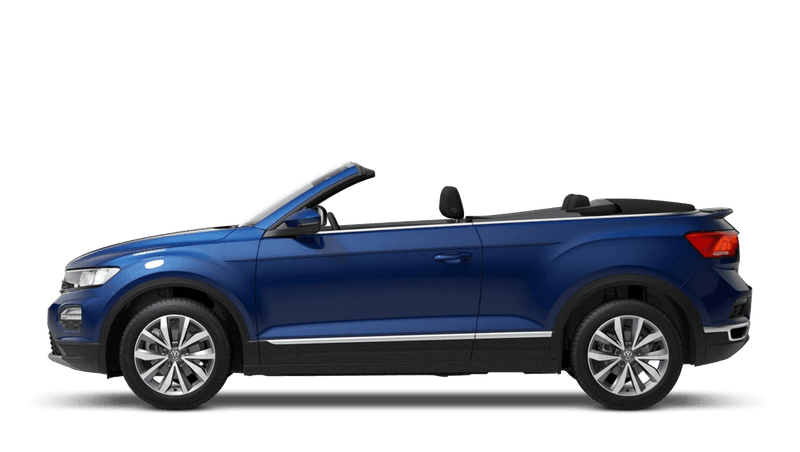 Ravenna Blue (Metallic) New Volkswagen T-Roc Cabriolet