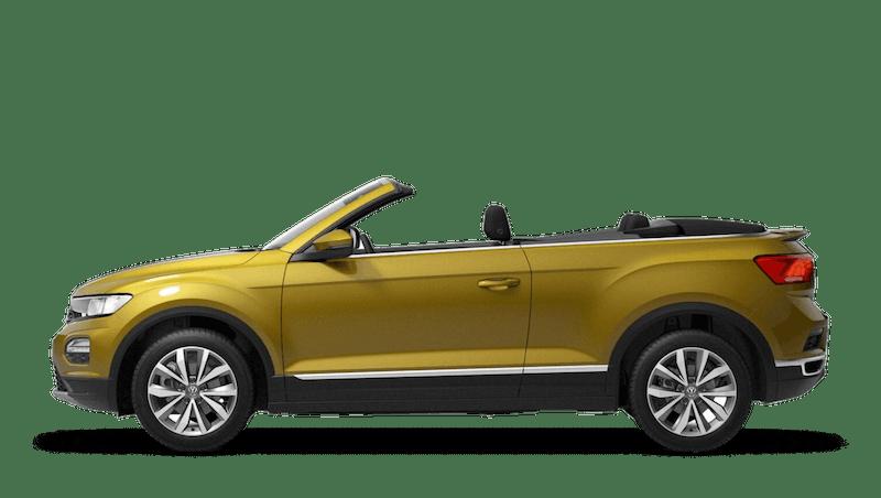 Turmeric Yellow (Metallic) New Volkswagen T-Roc Cabriolet