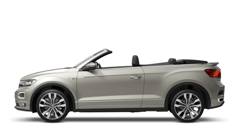 Ivory Silver (Metallic) New Volkswagen T-Roc Cabriolet
