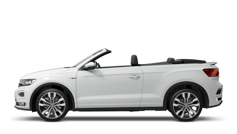 Pure White (Solid) New Volkswagen T-Roc Cabriolet