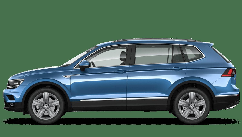 Blue Silk (Metallic / Pearl) Volkswagen Tiguan Allspace