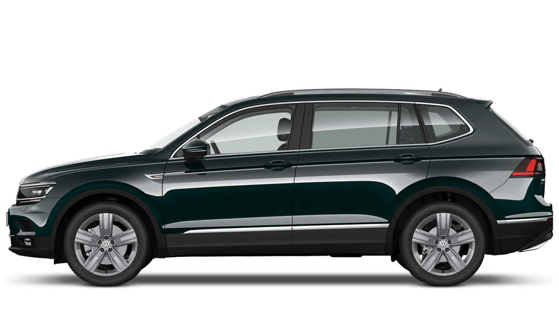 Dark Moss Green (Metallic / Pearl) Volkswagen Tiguan Allspace