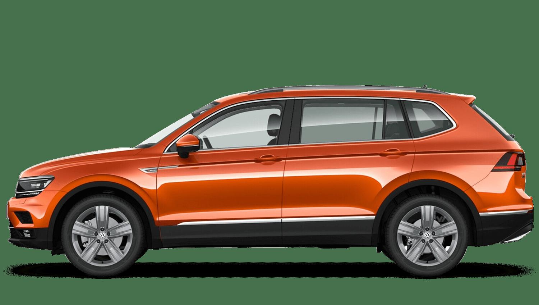 Habanero Orange (Metallic / Pearl) Volkswagen Tiguan Allspace