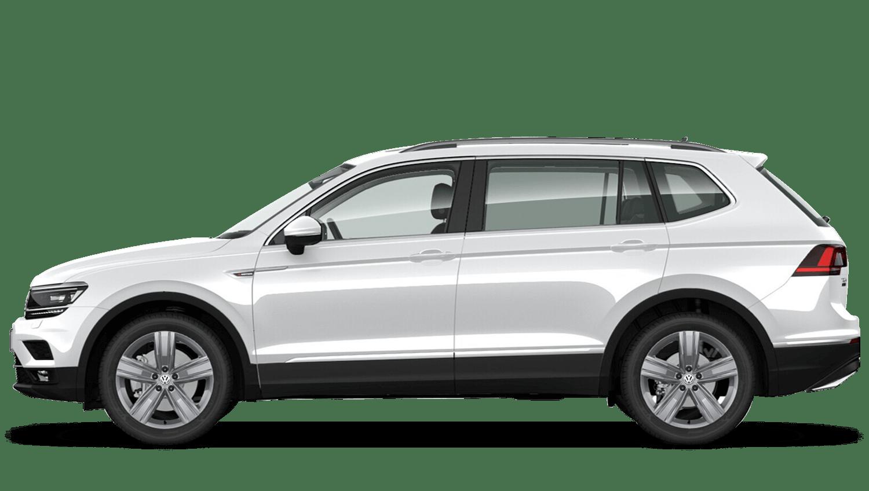 Pure White (Solid) Volkswagen Tiguan Allspace