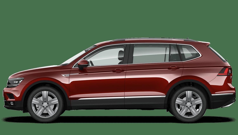 Ruby Red (Metallic / Pearl) Volkswagen Tiguan Allspace