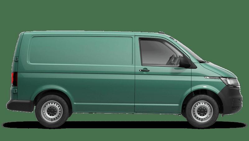 Bay Leaf Green Transporter 6.1 panel van