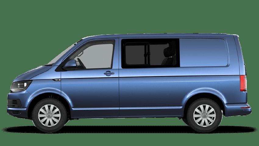 Acapulco Blue (Metallic) Volkswagen Transporter Kombi
