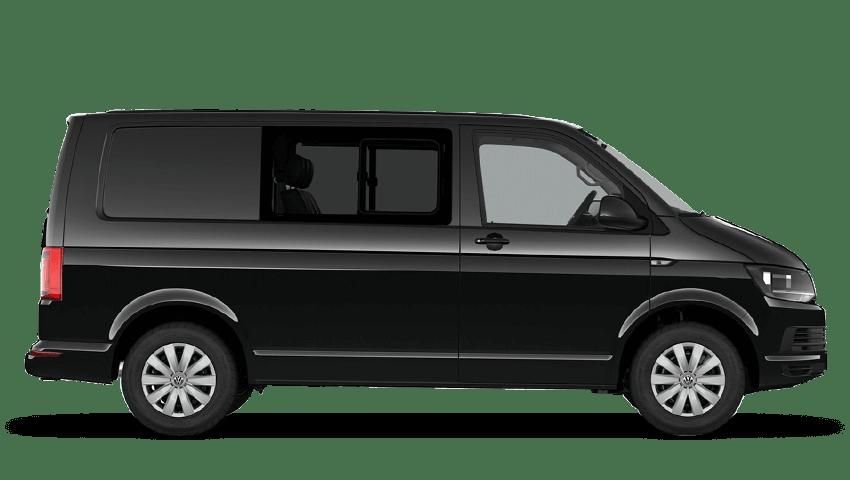 Deep Black Pearl (Pearl) Volkswagen Transporter Kombi