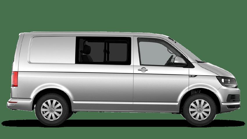 Reflex Silver (Metallic) Volkswagen Transporter Kombi