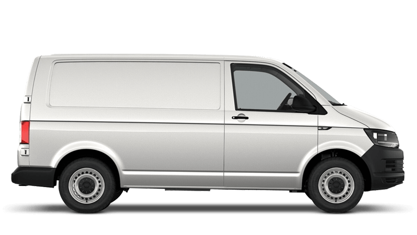 e8ade0571f ... Candy White (Solid) Volkswagen Transporter Panel Van ...