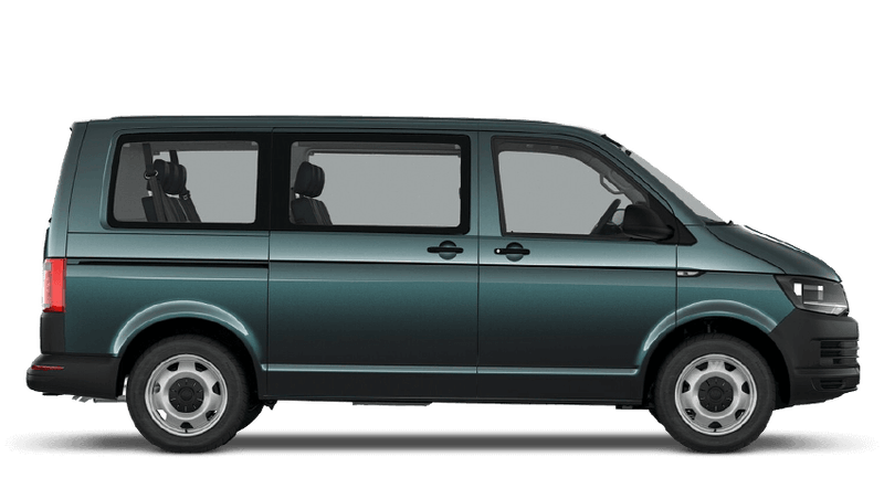 Bamboo Garden Green (Metallic) Volkswagen Transporter Shuttle