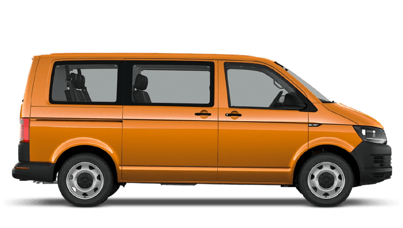 Bright Orange (Solid) Volkswagen Transporter Shuttle