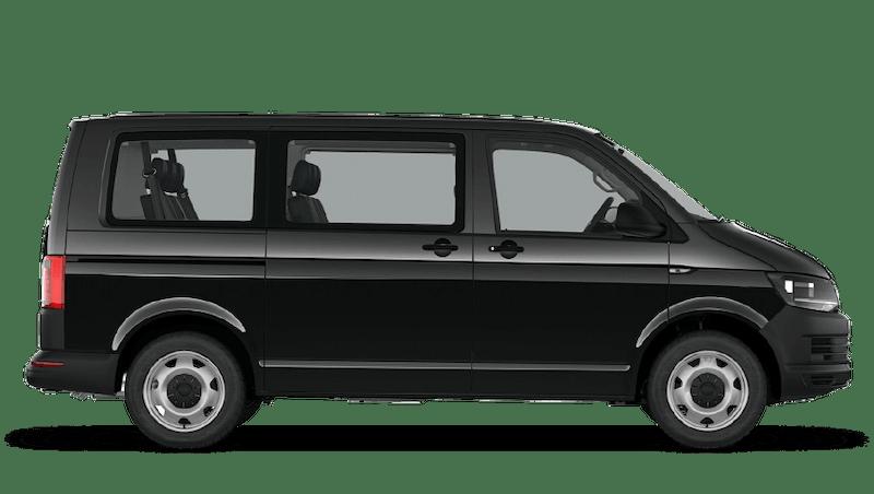 Deep Black Pearl (Pearl) Volkswagen Transporter Shuttle