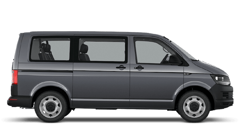 Pure Grey (Solid) (Solid) Volkswagen Transporter Shuttle