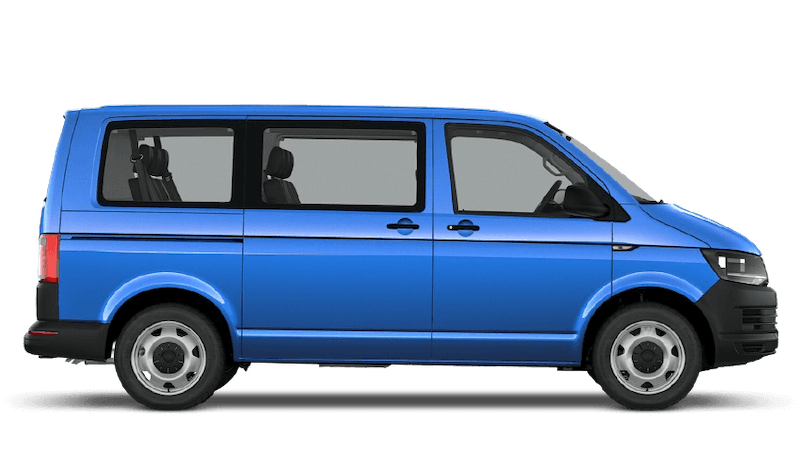 Summer Blue (Solid) Volkswagen Transporter Shuttle