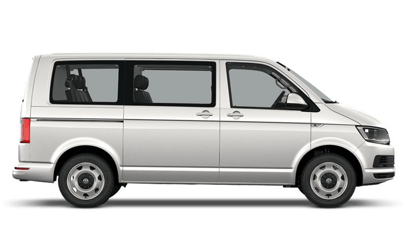 Candy White (Solid) Volkswagen Transporter Shuttle