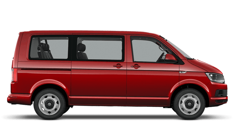 Cherry Red (Solid) Volkswagen Transporter Shuttle