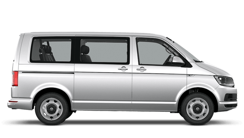 Oryx White Mother of Pearl (Pearl) Volkswagen Transporter Shuttle