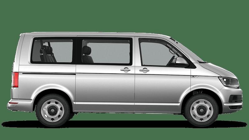 Reflex Silver (Metallic) Volkswagen Transporter Shuttle