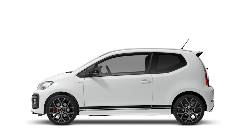 Pure White Black Roof (Solid) New Volkswagen up! 3 door
