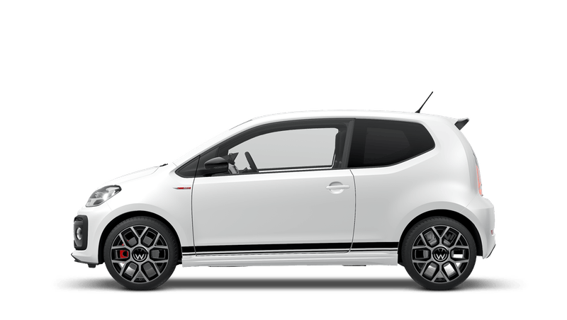 Pure White (Solid) New Volkswagen up! 3 door