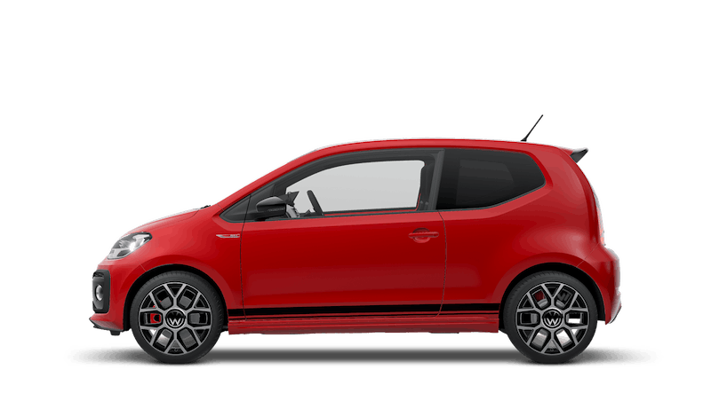 Tornado Red (Solid) New Volkswagen up! 3 door