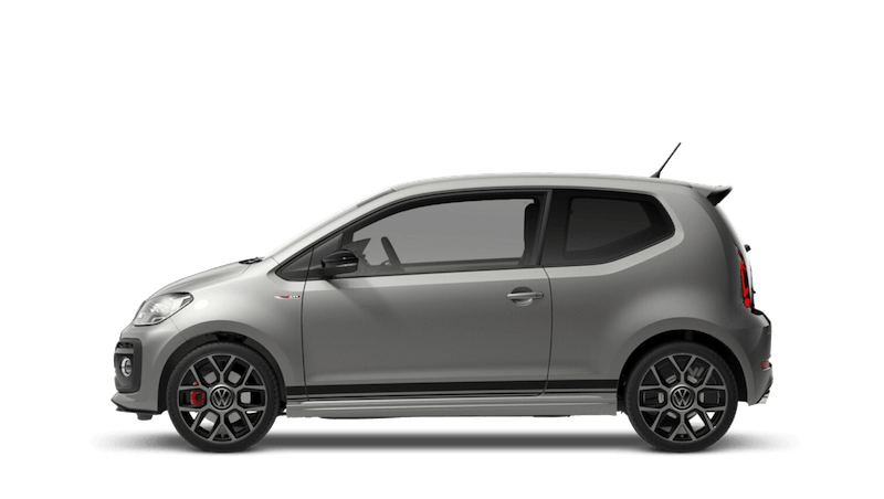 Tungsten Silver Black Roof (Metallic) New Volkswagen up! 3 door