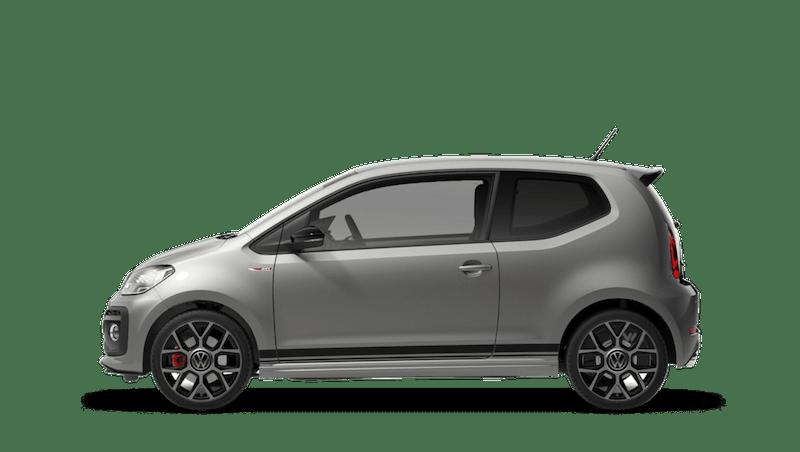 Tungsten Silver with Black Roof (Metallic) Volkswagen up! 3 door