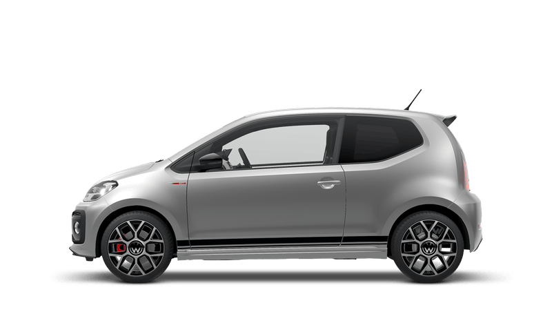 Tungsten Silver (Metallic) New Volkswagen up! 3 door